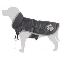 Regenmantel schwarz für Hunde