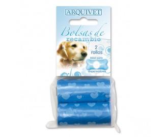 Ersatz-Kotbeutel für Hunde blau