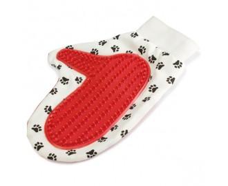 Massagehandschuh für Hunde