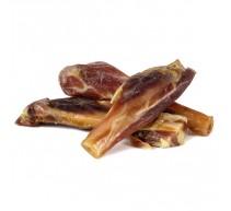 Knochenstücke vom Schinken naturbelasserer Snack für Hunde