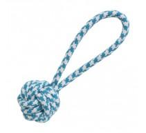 Knoten Spielzeug mit Wurfschlaufe für Hunde
