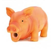 Schwein aus Natur-Latex15cm Spielzeug für Hunde