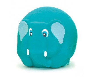 Elefant aus Latex blau 7cm Spielzeug für Hunde
