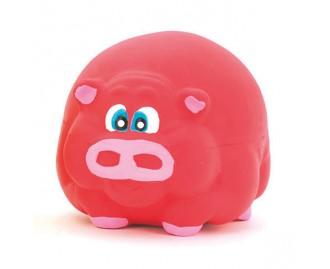 Schwein aus Latex rosa 7cm Spielzeug für Hunde