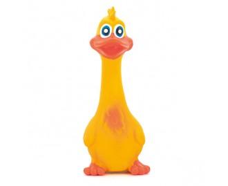 Ente aus Latex gelb 19cm Spielzeug für Hunde