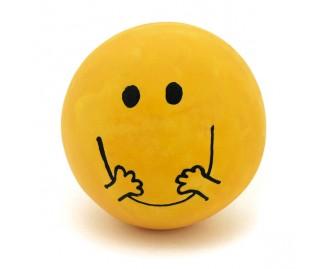Ball Smile aus Latex gelb 75cm Spielzeug für Hunde
