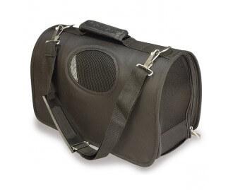 Transportbox/-Tasche Farbe schwarz für Hunde und Katzen