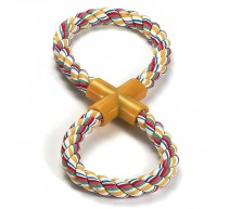 Beisstau 2er Knoten aus Baumwolle Spielzeug für Hunde