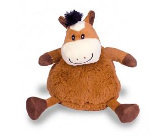 Stofftier Kuh marron Spielzeug für Hunde