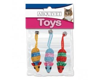 Mäuse Set Spielzeugs für Katzen