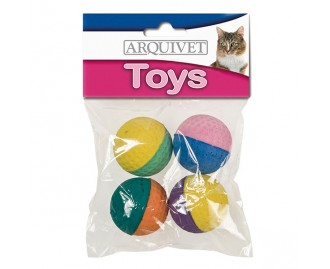 Schaumstoffball Spielzeug für Katzen