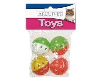 Ball mit innenliegendem Glöckchen Spielzeug für Katzen