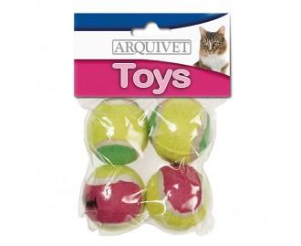 Tennisball Spielzeug für Katzen