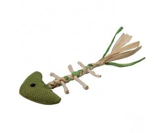 Espina de pez gama natural juguete para gatos