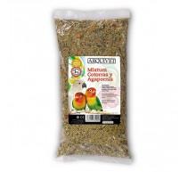 Mixtura 1 kg comida para cotorras y agapornis