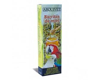 Barritas de miel 150g para loros y cotorras