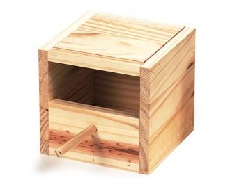 Nido de madera para isabelinas