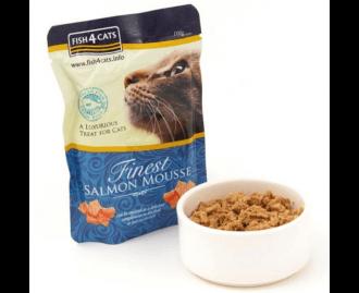 Fish4cats Finest Salmon Mousse für Katzen