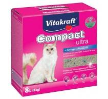 Vitakraft Compact ultra plus Klumpstreu für Katzen