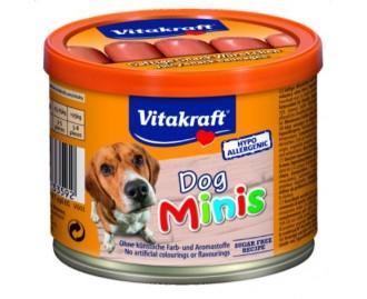 Vitakraft Dog Minis Snack-Würstchen für Hunde