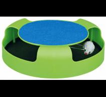Fang die Plüschratte, Spielzeug für Katzen 25x6cm TRIXIE