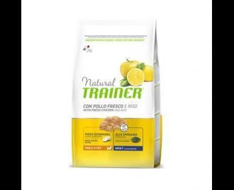 Natural Trainer Adult Mini Huhn und Reis Trockenfutter für Hunde