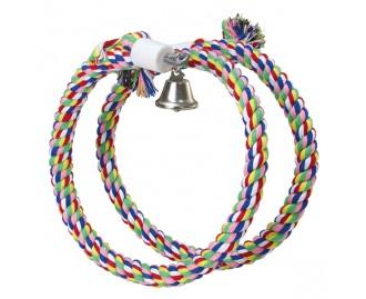 Juguete Aros de colores con campana para pajaros