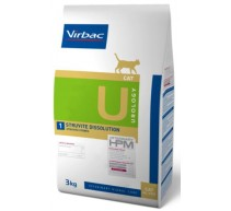 HPM Dieta para gatos U1-cat urology struvite dissolution problemas urinarios