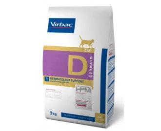 HPM Diät für Katzen D1-cat dermatology support, bei Hautproblemen