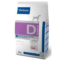 Veterinary HPM Dog Dermto D1 Dermatology Support