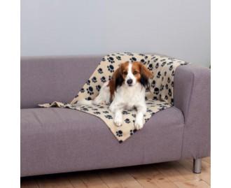 2x1 Decke für Hunde und Katzen TRIXIE Beany 100x70 cm Plüsch. (3 Farben)
