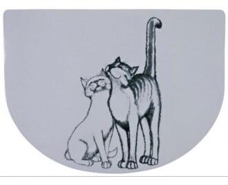Tischset 40x30 cm, Pussy Cat für Katzen, weiss TRIXIE