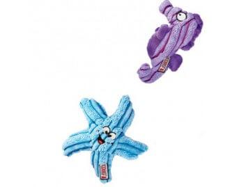 KONG CuteSeas Seepferdchen Spielzeug für Hunde