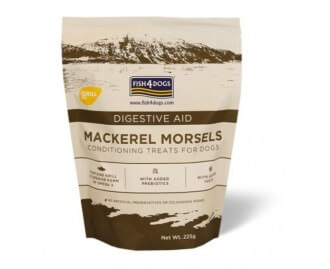 Fish4dogs Mackerel Morsels digestive aid Leckerlis für Hunde