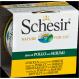 Schesir Nassfutter für Katzen Dose 85 gr Huhn [3 Sorten]