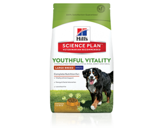 Hill's SP Canine Adult+5 Youthful Vitality Grosse Hunderassen mit Huhn und Reis