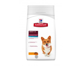 Hills Adult Advance Fitness mini mit Huhn Science Plan Trockenfutter für Hunde