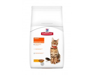 Hills Adult Optimal Care Huhn Science Plan Trockenfutter für Katzen