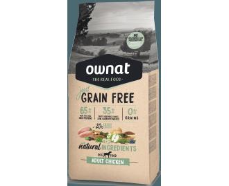 Optima Ownat Just Grain Free pienso para perros adultos Pollo