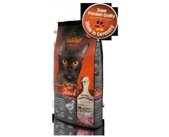 Leonardo Adult Ente & Reis Trockenfutter für Katzen