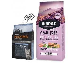 Maxima Grain Free Sterilized Cat Trockenfutter für sterilisierte Katzen