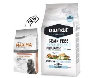 Maxima Hypoallergenic grain free Fisch Trockenfutter für Hunde
