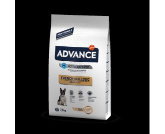 ADVANCE French Bulldog Trockenfutter für erwachsene franösische Bulldoggen