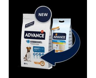 Advance Adult Small Huhn und Reis Trockenfutter für ausgewachsene Hunde kleine Rassen