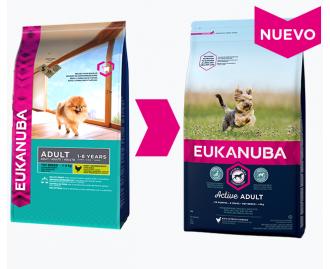 Eukanuba Adult Trockenfutter für Hunde Rasse Toy Miniature