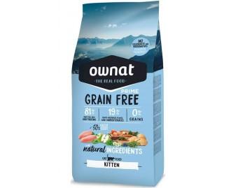 Ownat Maxima Prime Grain Free Kitten pienso para gatos