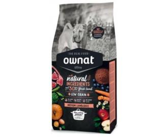 Maxima Ownat Ultra Lamb&Rice Trockenfutter für Hunde