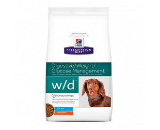 Hills WD Canine w/d Mini PD - Prescription Diet Diät für Hunde