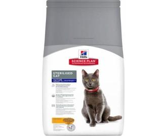 Hills Mature Adult Sterilized Cat Huhn Science Plan Trockenfutter für Katzen