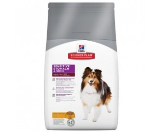 Hills Adult Sensitive Skin & Stomach Science Plan Trockenfutter für Hunde